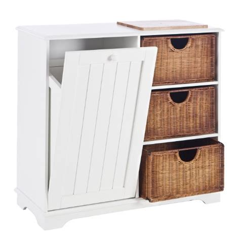 kitchen island plans sei tilting trash bin storage table with baskets white from southern