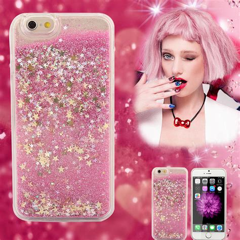 Fashion Water Gliter For Apple Iphone 6 Plus luxury fashion liquid glitter sand clear cover for apple iphone 6s 6splus 6s