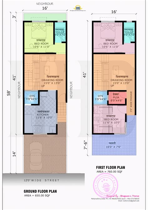blueprint plans 1410 square feet home with blueprint kerala home design