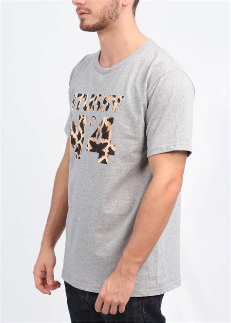 T Shirt Stussy N4 Harmony Merch stussy giraffe n4 t shirt grey