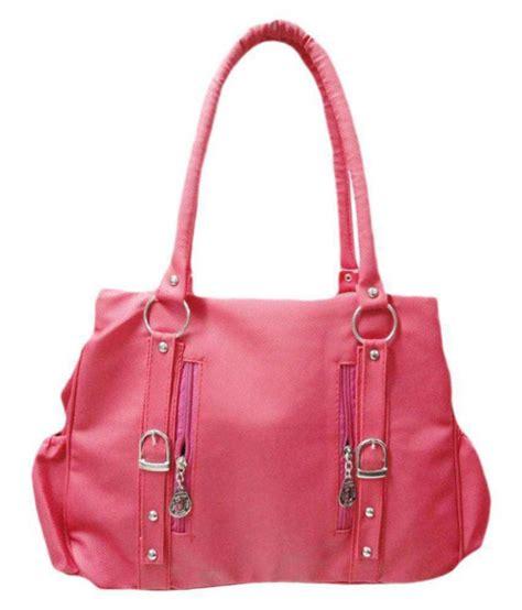 P Da Bag view bags pink p u shoulder bag buy view bags pink p u