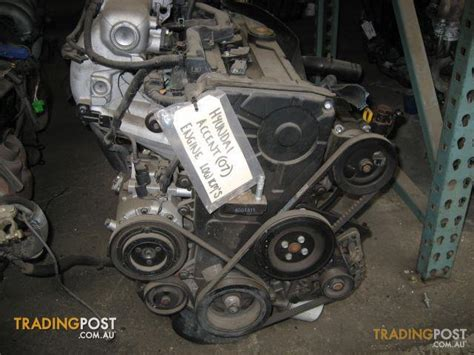 2007 Hyundai Accent Parts by Hyundai Accent 2007 Engine For Sale In Cbellfield Vic