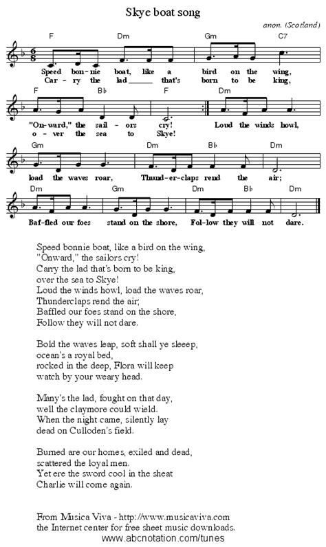 skye boat song in g abc skye boat song trillian mit edu jc music abc