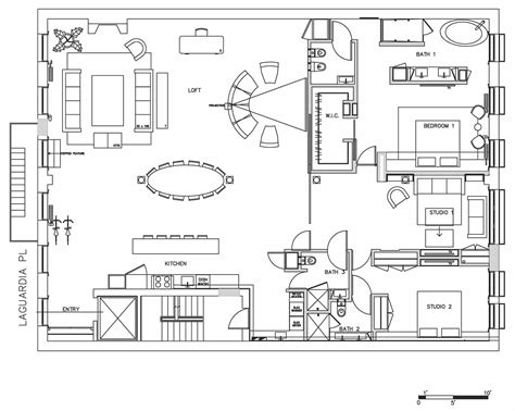 nyc floor plans floor plan loft in noho new york city lofts