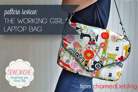 sewing pattern laptop bag pattern review the working girl laptop bag from