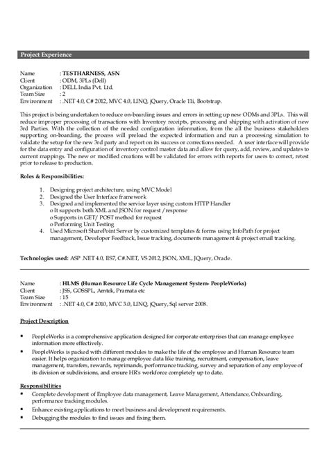 15 years experience resume resume ideas