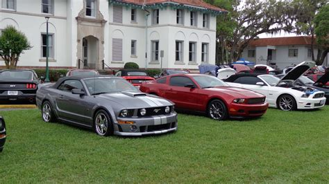 mustang club 2016 mustang club of america ancient city national car