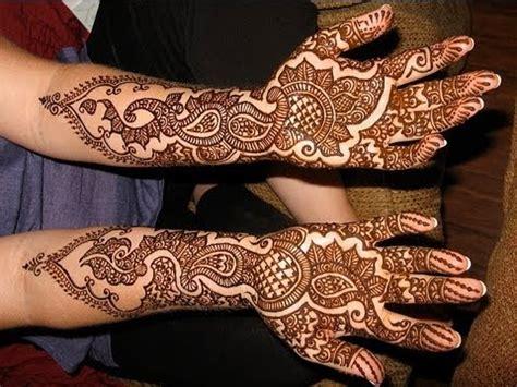 simple  easy   bridal mehndi henna art learn traditional indian bridal henna youtube