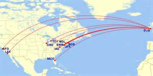 Aer Lingus Route Map by The Transatlantic Market In Summer 2016 Airways Magazine