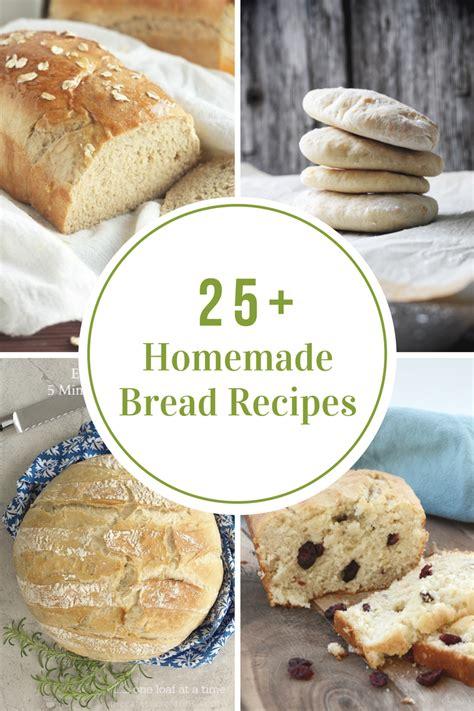 Handmade Bread Recipes - bread recipes the idea room