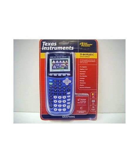 customer reviews texas instruments ti 84 plus c silver texas instruments plus ti 84 c silver edition graphing
