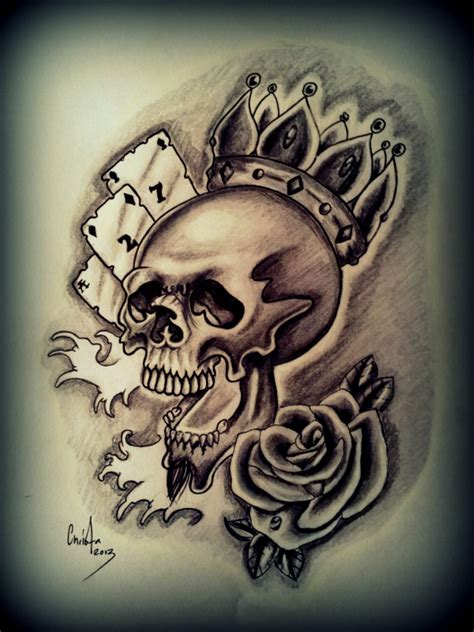 skull with crown tattoo designs skull wearing a crown celtic knot designs free