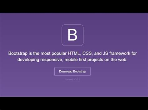 installing bootstrap on windows how to install bootstrap on windows 8 windows 8 1 youtube