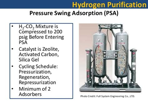 pressure swing adsorption hydrogen purification uc davis presentation 2012