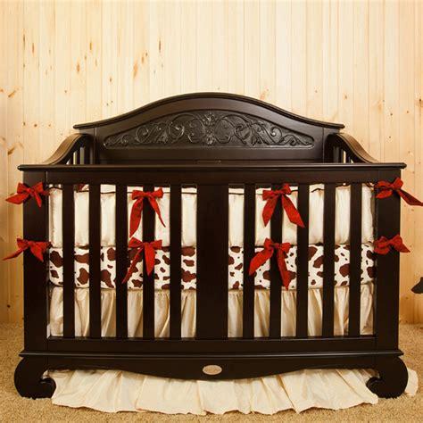 Western Crib Bedding Sets Western Silk Crib Bedding Set By Crown Interiors