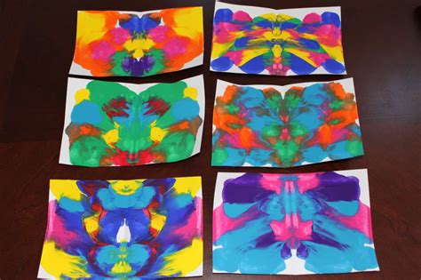 symmetry painting symmetrical painted butterfly craft the end in mind