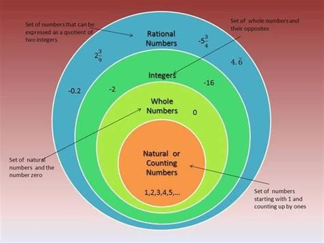 number diagram rational numbers diagram middle school math rational numbers rational numbers
