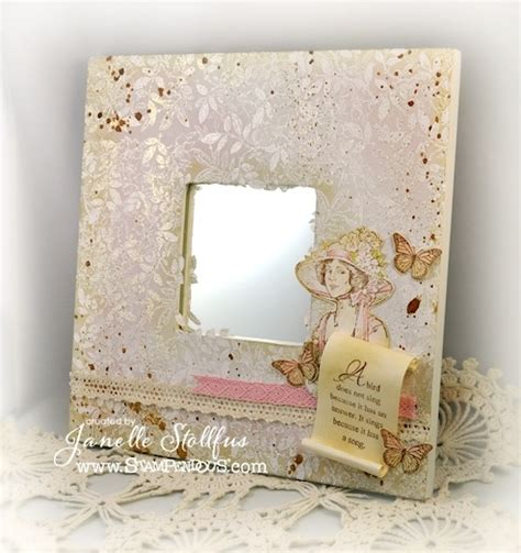 decoupage mirror ideas puddles design with decoupaged mirror stendous