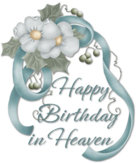 birthday in heaven mom quotes. quotesgram