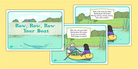 row row your boat in arabic row row row your boat display posters rhyme song