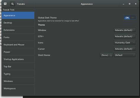 gnome themes adwaita how to get a real global dark theme in ubuntu gnome 14 10