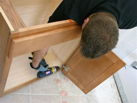 install bathroom vanity how to install a vanity in a master bathroom how tos diy
