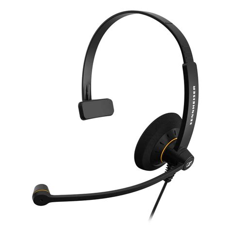 Headset Pc Sennheiser Sc 30 Usb Headset With In Line Volume