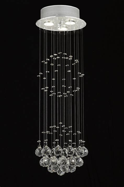 G93 Md 9342 3 Gallery Modern Contemporary Raindrop Raindrop Chandelier Crystals