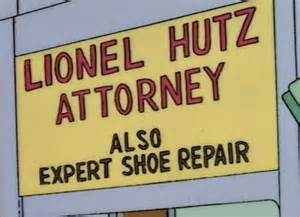 lionel hutz business card lionel hutz 742 evergreen terrace usa
