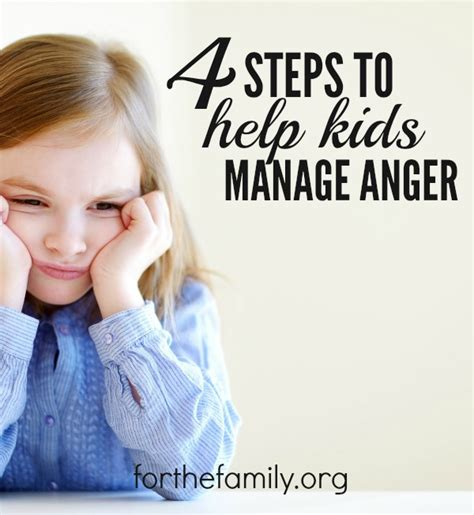 4 steps to get your kids to help clean the bathroom 4 steps to help kids manage anger for the family