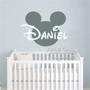 personalised name stickers for walls custom name wall sticker kids room baby nursery name wall