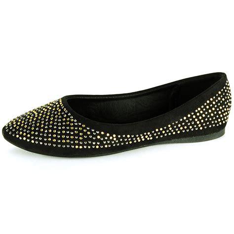rhinestone flats shoes womens ballet flats slip on rhinestone shoe faux suede