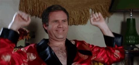 excited gif awesome will ferrell gif find on giphy