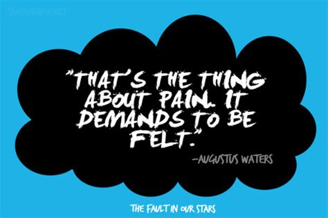 theme quotes in the fault in our stars quotes the fault in our stars