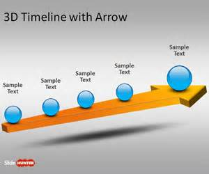 free powerpoint timeline templates free 3d timeline template for powerpoint with arrow free