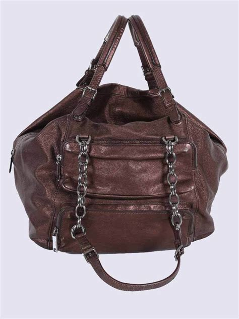 Dolce And Gabbana Miss Silky Hobo by Dolce Gabbana Miss Pocket Leather Hobo Bag Metallic