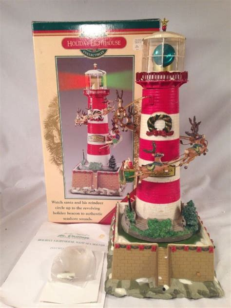 lighthouse tree toppers mr lighthouse shop collectibles daily