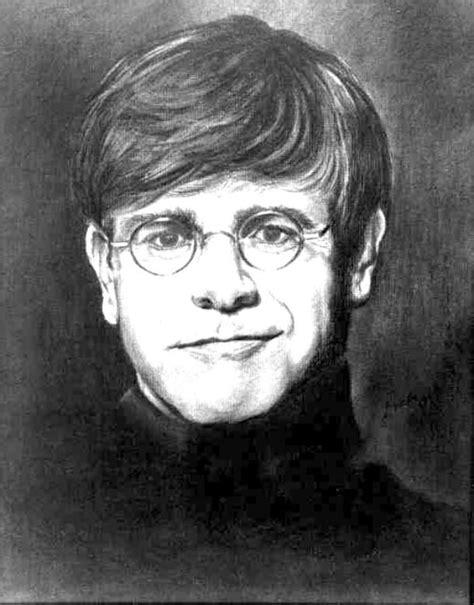Elton John | Music That Moves Me | Drawings, Pencil