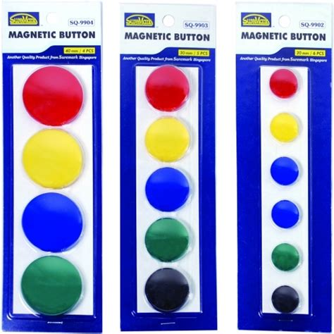 Diskon Magnet Bulat Diameter 20mm Pack 8 Pcs suremark magnetic buttons