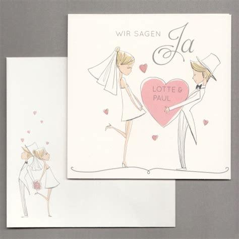 Hochzeitseinladung Comic Brautpaar by Lustige Hochzeitseinladung Als Comic Tollekarten