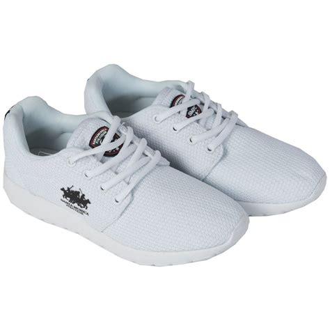 designer sports shoes santa polo club casual trainers footwear
