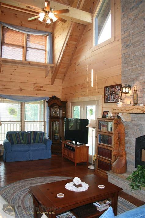 log home interior pictures custom timber log homes
