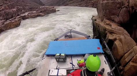 rock the boat it goes left right grand canyon flip left at bedrock rapid youtube