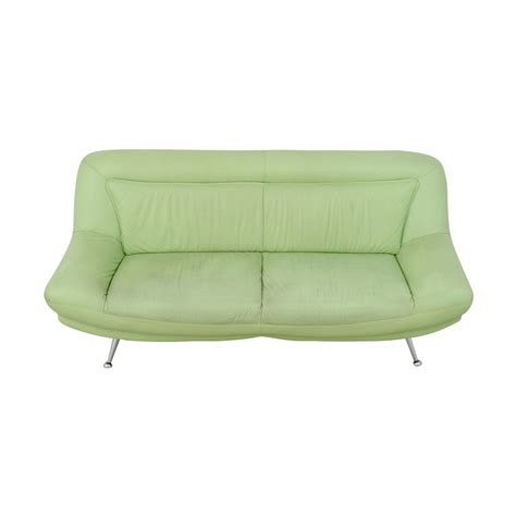 mint green sofa mint green leather sofa crate barrel lounge 83 sofa and