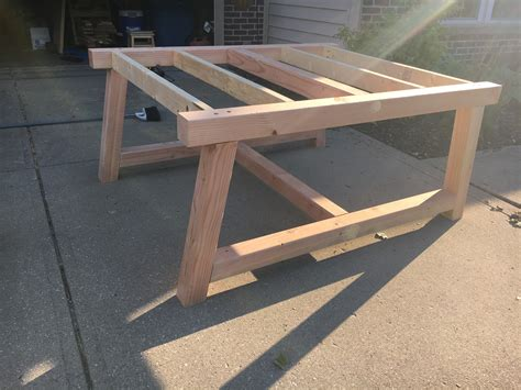 white square farmhouse table diy projects