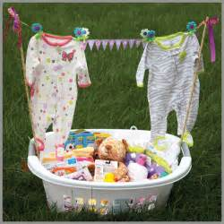 baby shower gift basket ideas for a lovely
