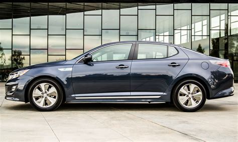 Kia Optima Trim Levels 2014 2014 Kia Optima Hybrid Updated With New Grille Leds Front