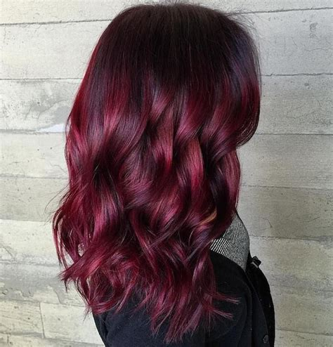 bordeaux hair color 25 best ideas about couleur bordeaux on
