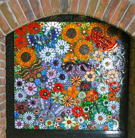 Simple Home Decoration by Elaine Prunty Mosaic Artist Mosaic Work