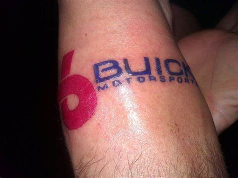 buick turbo 6 arrow logo tattoos